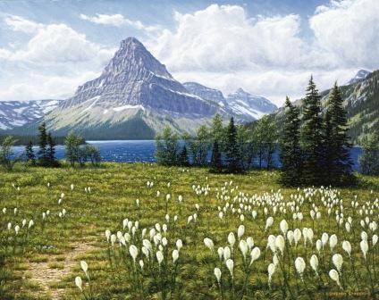 Beargrass Two Medicine Lake, GNP