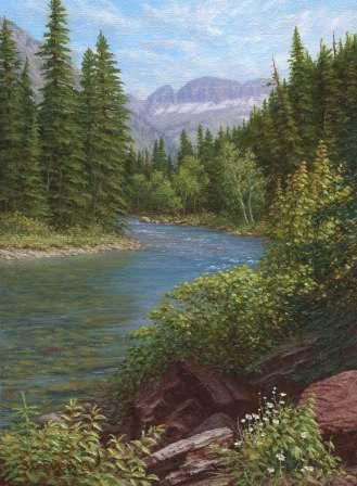 McDonald Creek, GNP