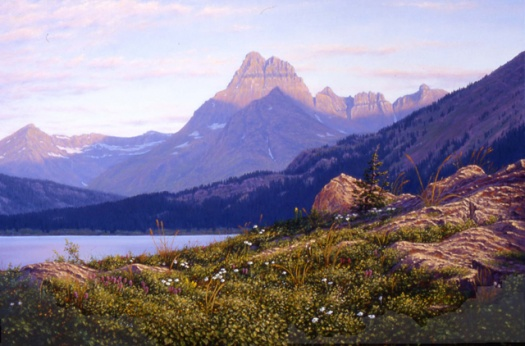 Morning Light, Mt. Wilber, GNP