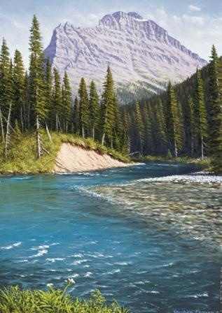Upper St. Mary River, GNP